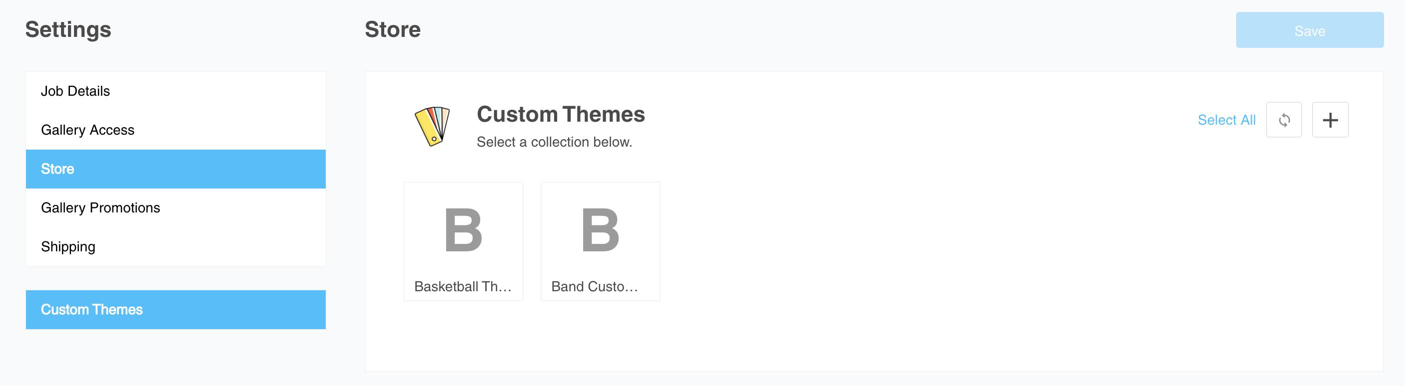 custom themes list